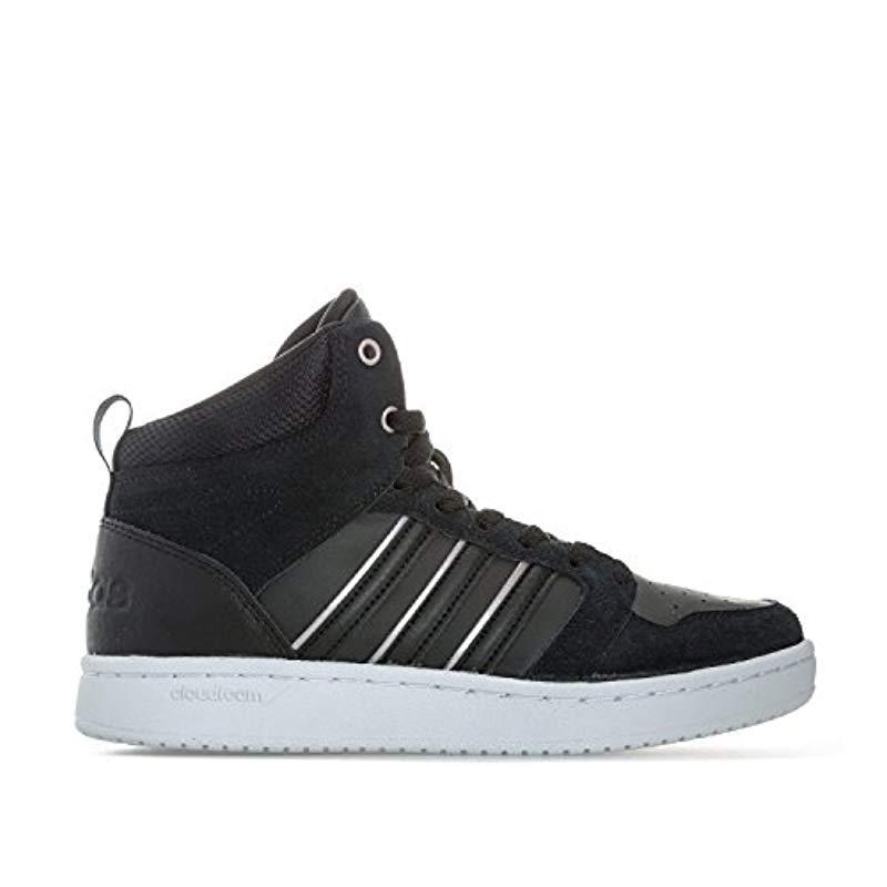huge selection of 58e5e bdaab adidas. Womens Black s Cloudfoam Superhoops Mid Fitness Shoes