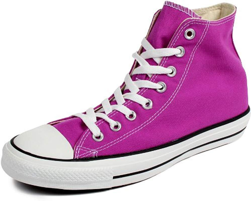 6c80d14273dc Converse Chuck Taylor All Star Season Hi Trainers in Purple - Lyst