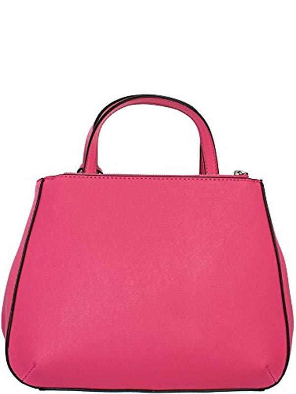 Guess  s Hwvy6693050 Top-handle Bag in Pink - Lyst 7256f4fe7ecb4