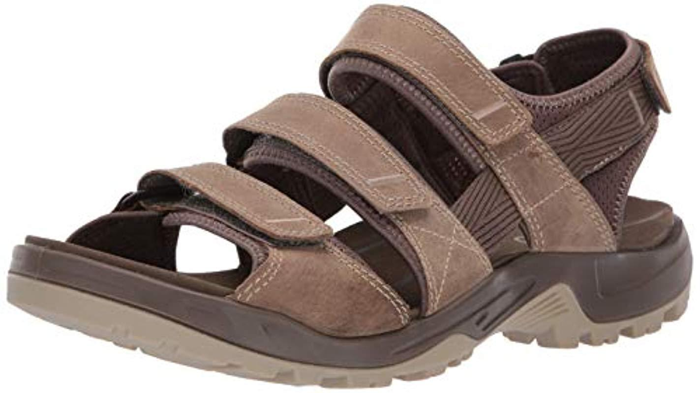 bfcbc14babf5 Ecco Offroad Open Toe Sandals in Brown for Men - Lyst