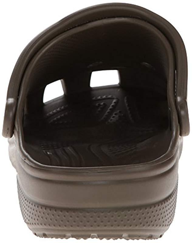 023e4607f15c85 Crocs™ Classic Size 17 Chocolate in Brown for Men - Lyst