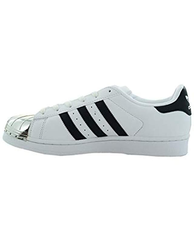 13cfe85056bc Lyst - adidas Originals Superstar Metal Toe W Skate Shoe Running