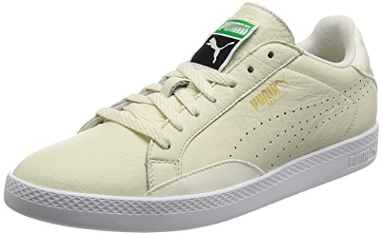 9b0183a4547e PUMA Match Lo Black And White Wn s Low-top Sneakers in White - Lyst