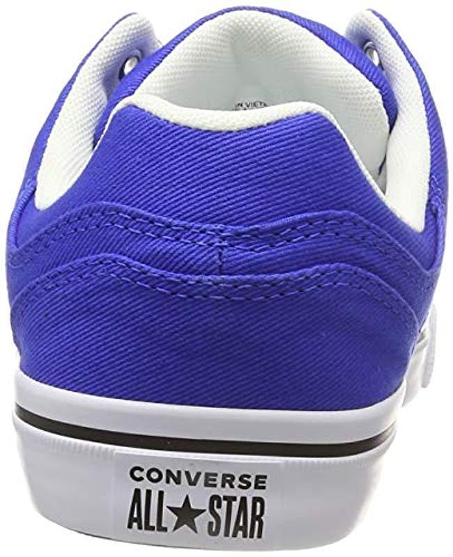 48da297bf6fb45 Lyst - Converse Lifestyle Cons El Distrito Ox Cotton