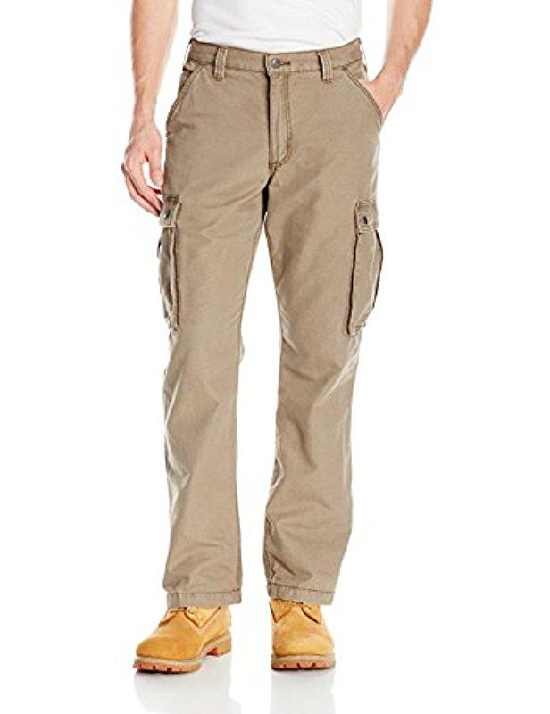 66033b9369 Lyst - Carhartt Rugged Cargo Pant Relaxed Fit in Brown for Men ...