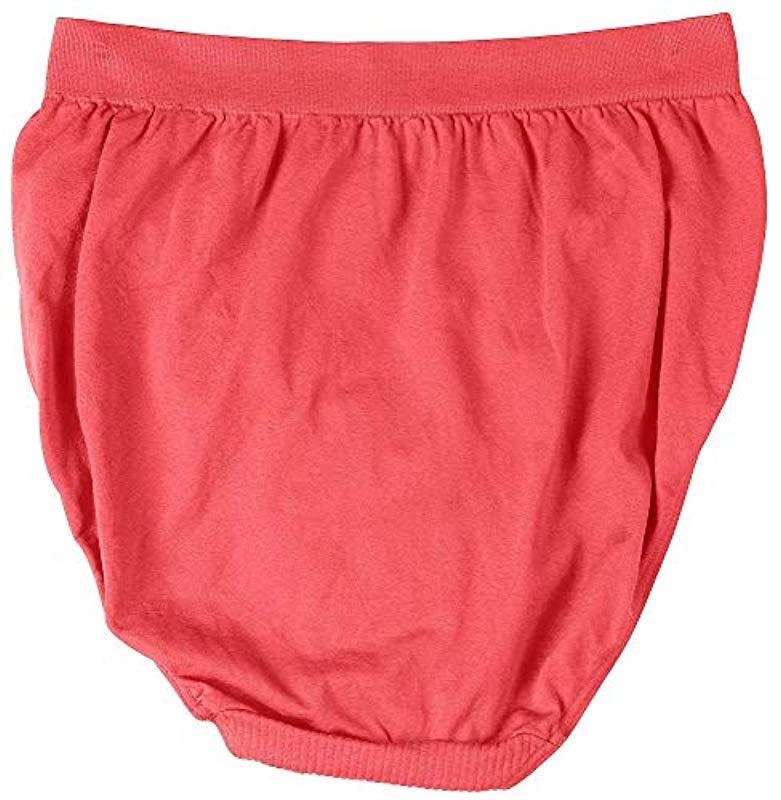 79b93e5a5c0 Bali - Red Comfort Revolution Seamless High-cut Brief Panty - Lyst. View  fullscreen
