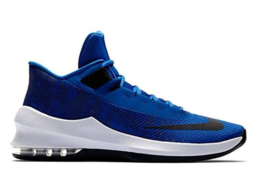 innovative design 777d9 b474c ... norway nike s air max infuriate 2 mid basketball shoes in blue for men  lyst a7e73
