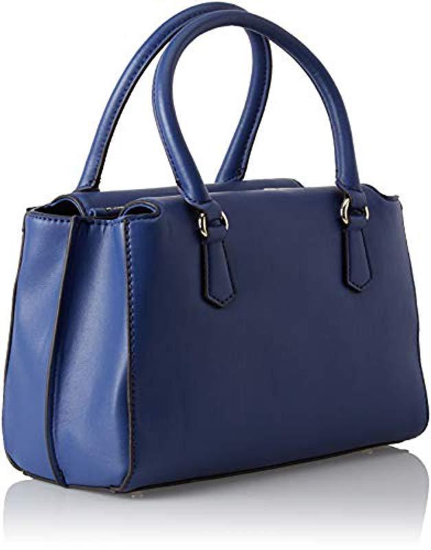 Guess Felix Top-handle Bag in Blue - Lyst 7a01935874639
