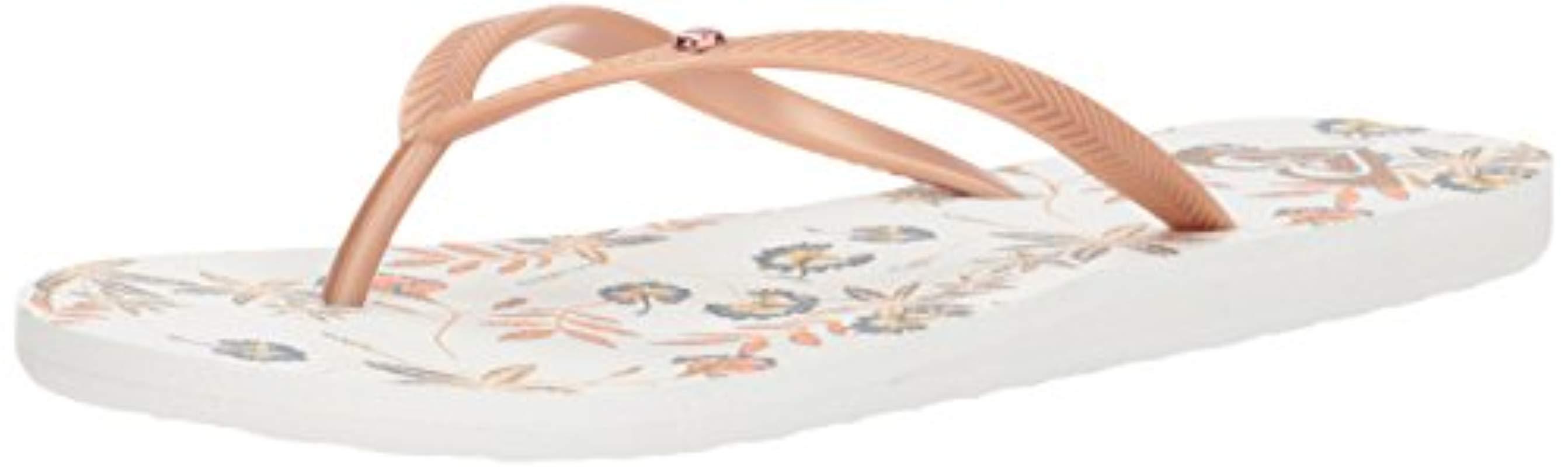 dc6f234847e Lyst - Roxy Bermuda Flip Flop Sandal Flip Flop