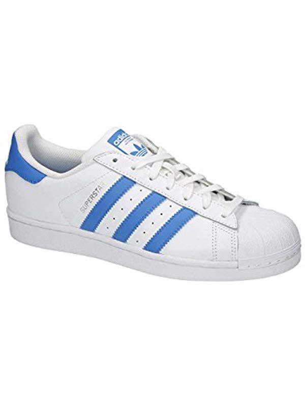 02a0e3a8d272 adidas. Men s Blue Originals Superstar Foundation
