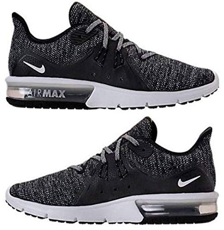 new product 40ab0 e626c Nike. Women s Black Wmns Air Max Sequent 3 Competition Running Shoes