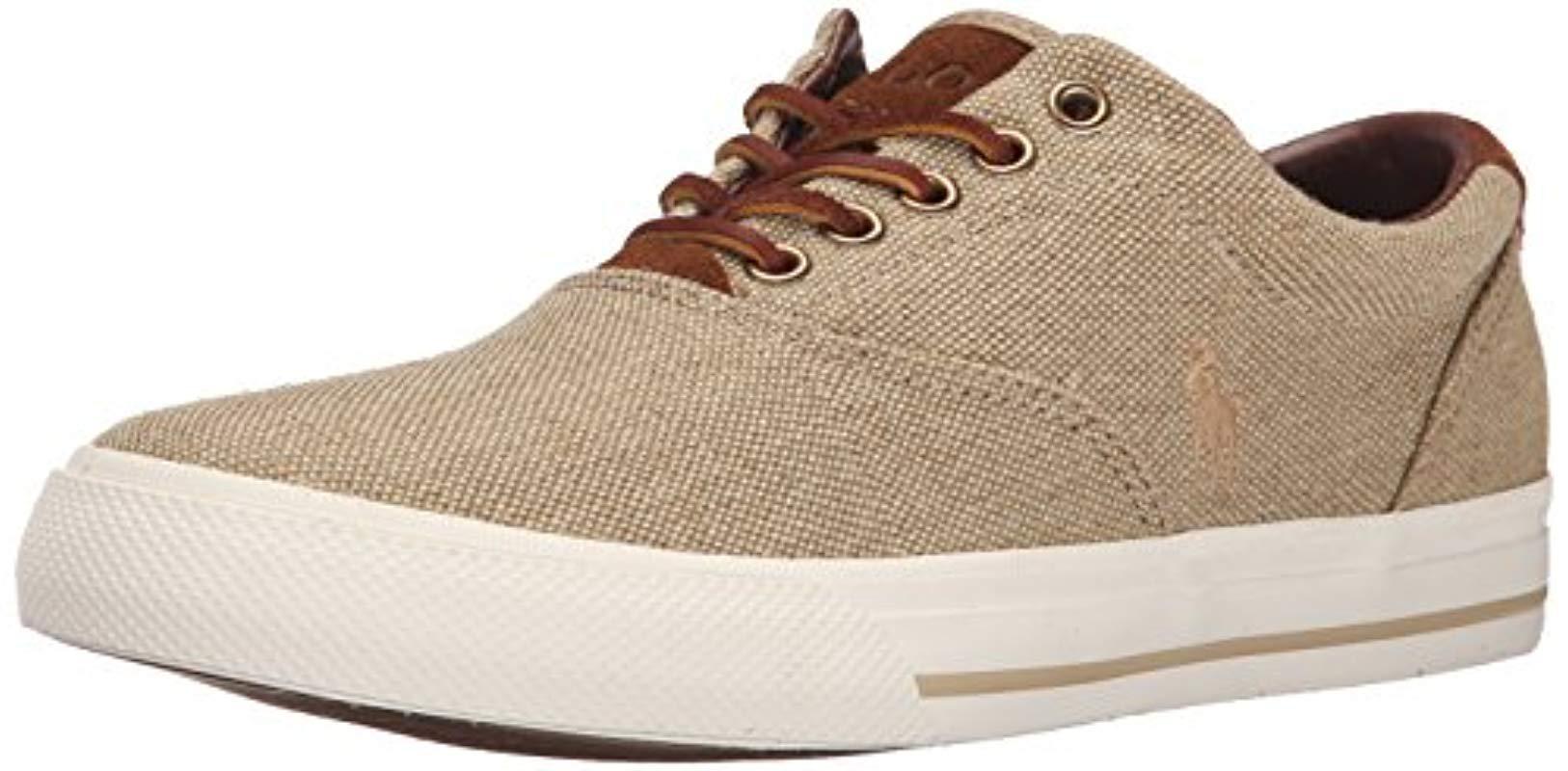 For Men Polo Lauren Vaughn Lyst Brown Ralph Sneaker In Lace Up 8Xn0wPOk