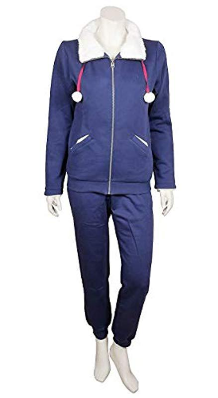 Triumph Sets Aw16 Leisure Suit Dressing Gown In Blue Lyst