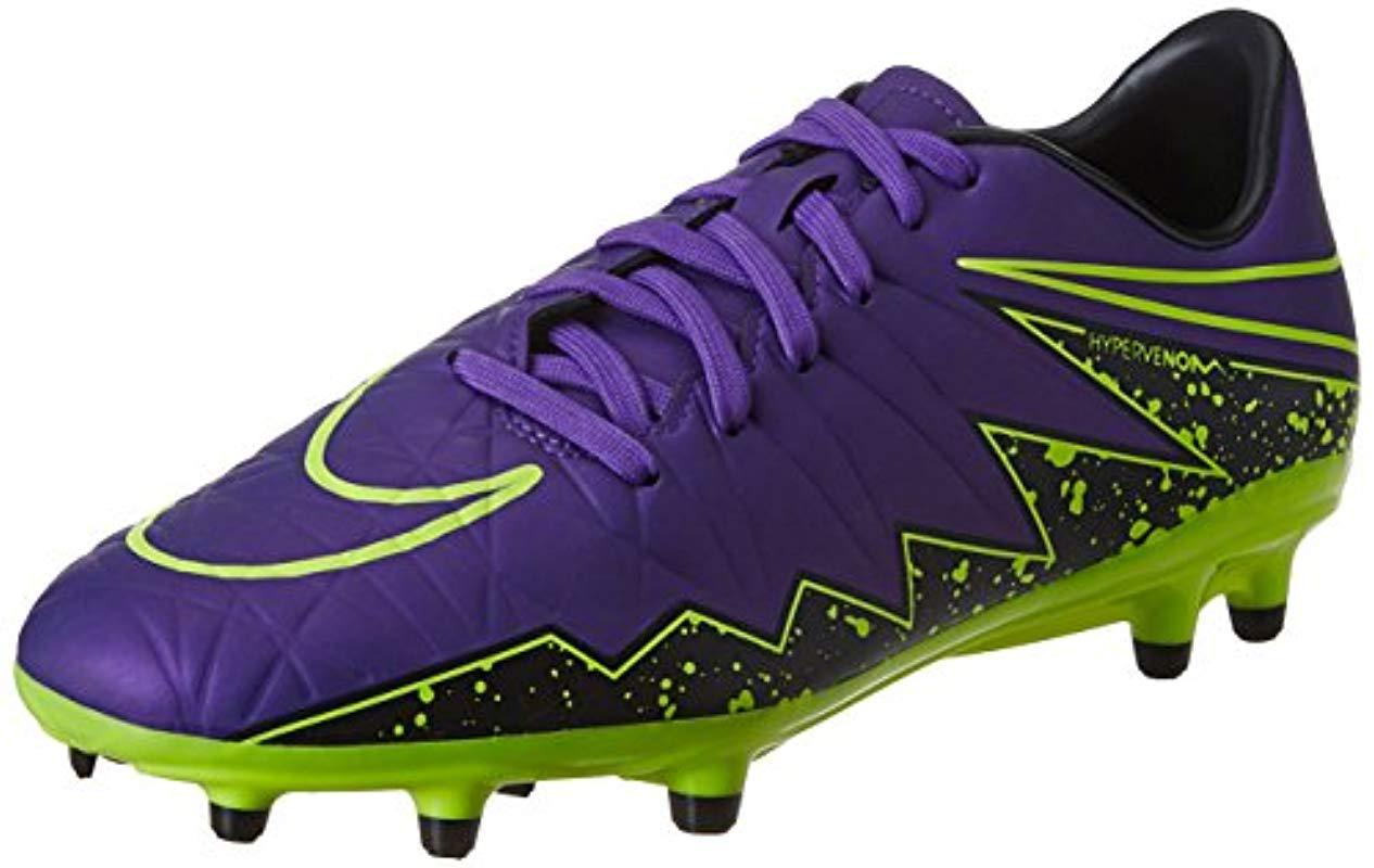 6359a389d Nike  s Hypervenom Phelon Ii Fg Training Running Shoes in Purple for ...