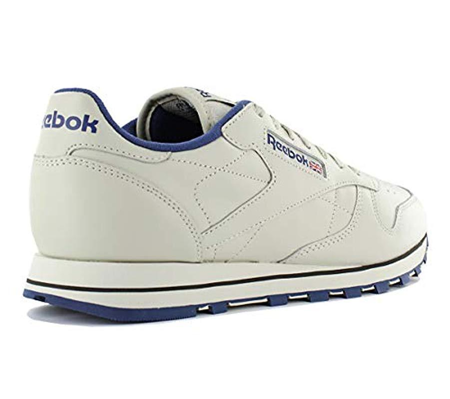 7372c70bfb6c3 Reebok - Natural Classic Leather Track   Field Shoes for Men - Lyst. View  fullscreen