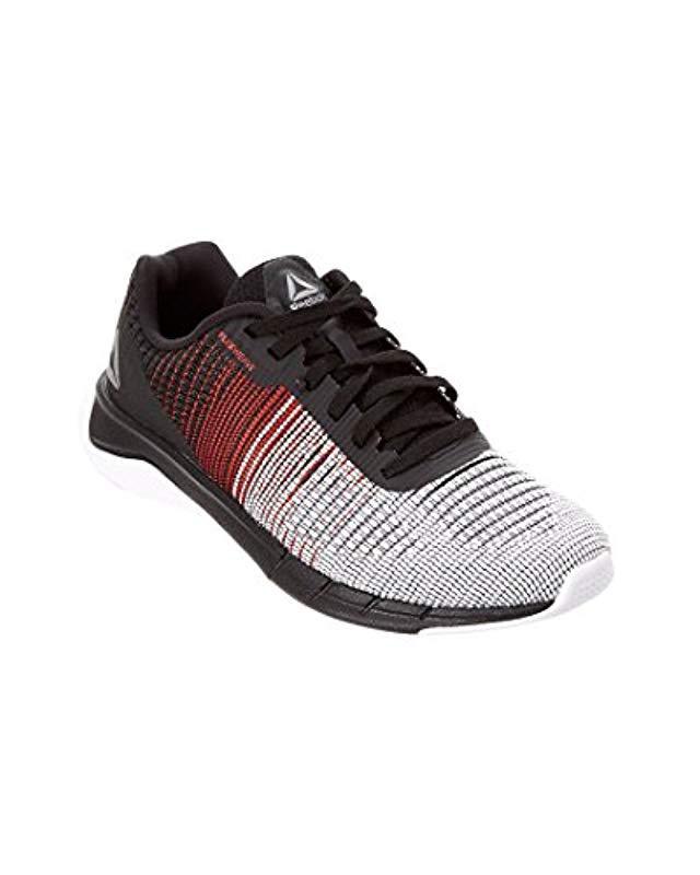 b8269a08cff Lyst - Reebok Kids Fast Flexweave Running Shoe in Black for Men