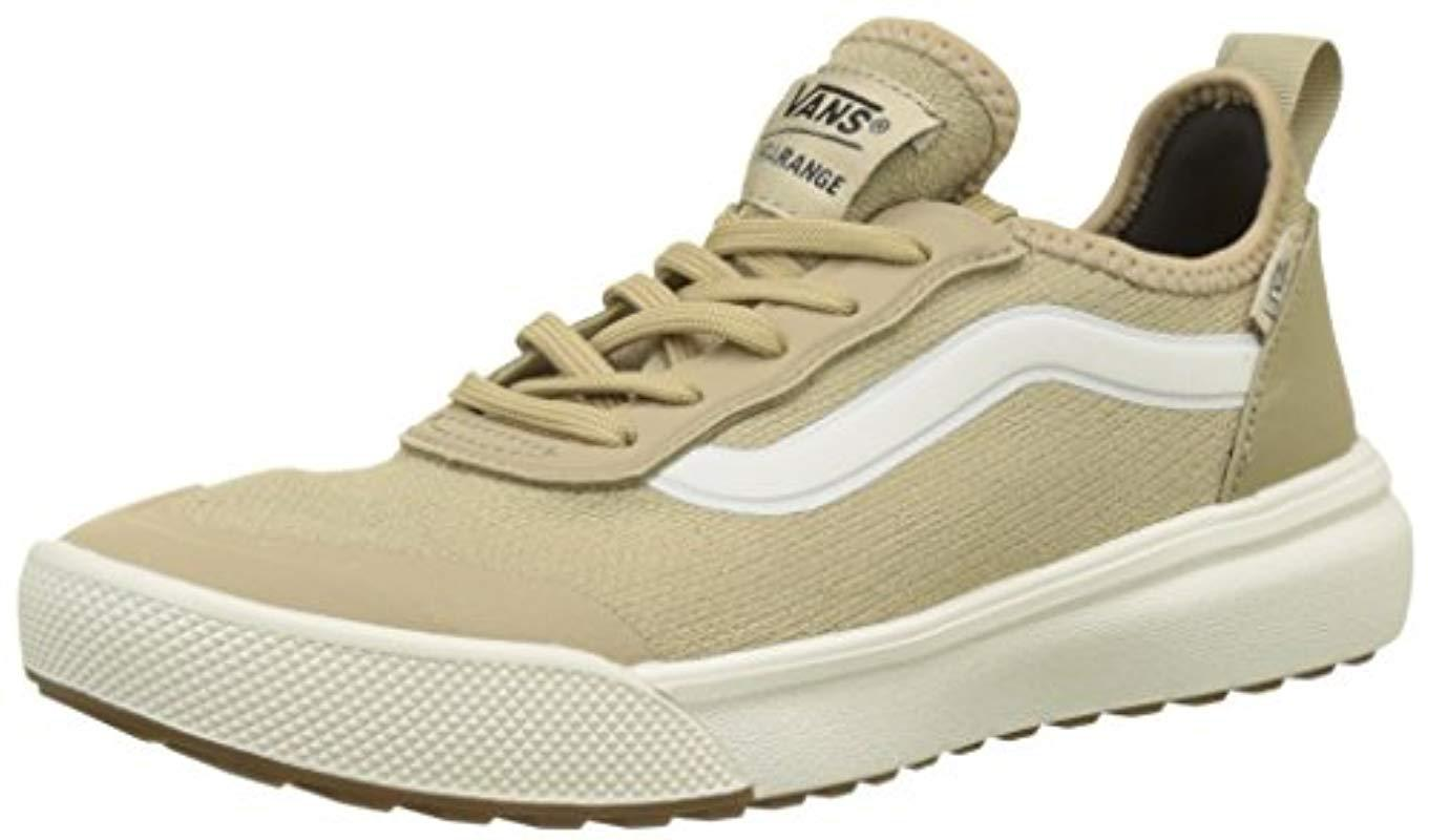 fcaf8a179b4 Vans Unisex Adults  Ultrarange Ac Trainers in Natural - Lyst