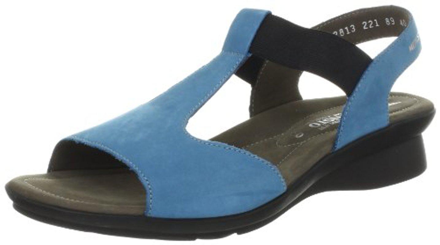 Lyst - Mephisto Petrea Sandal in Blue e4e03851070