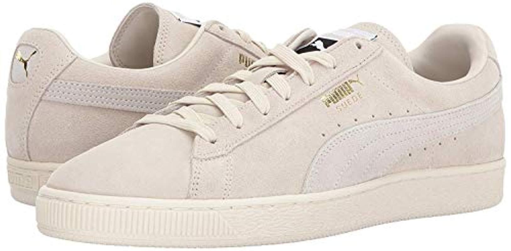 e36abd96b70c Lyst - PUMA Adult Suede Classic Shoe in White for Men
