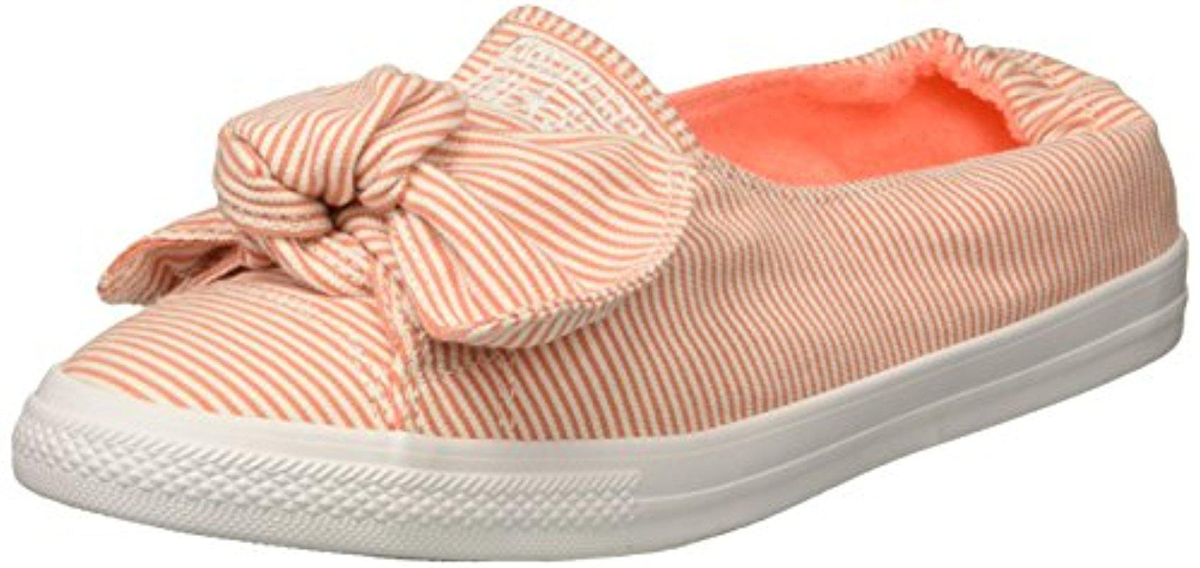 Chuck Taylor® All Star® Knot Striped Chambray Slip-On Sneakers HgX12