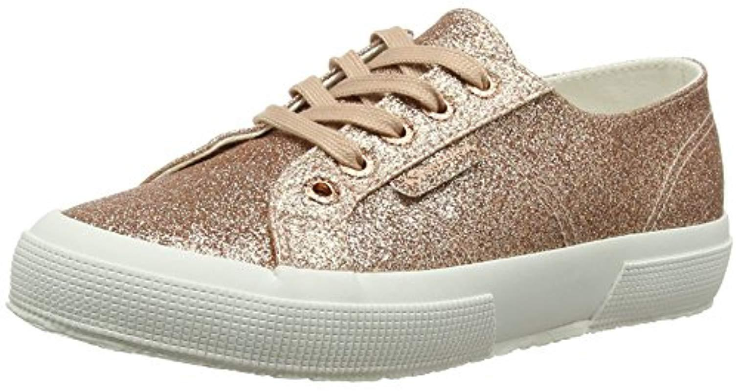 super popular fd689 c8f31 superga-Gold-Rose-Gold-916-s-2750-microglitterw-Trainers.jpeg