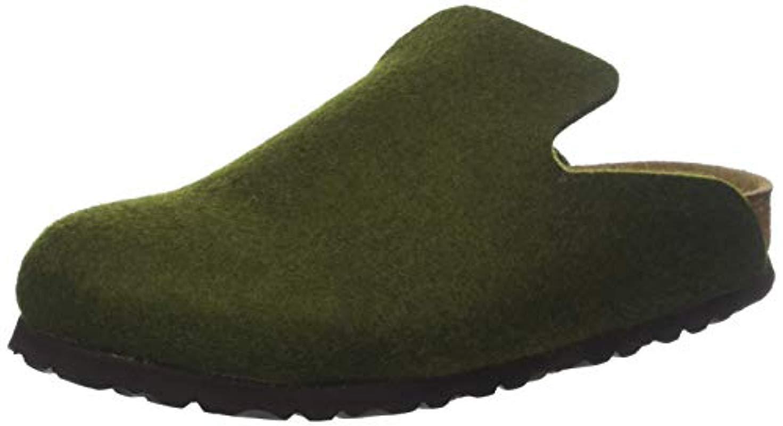 fd81f5664e57c Birkenstock Unisex Adults  Davos Open Back Slippers in Green for Men ...