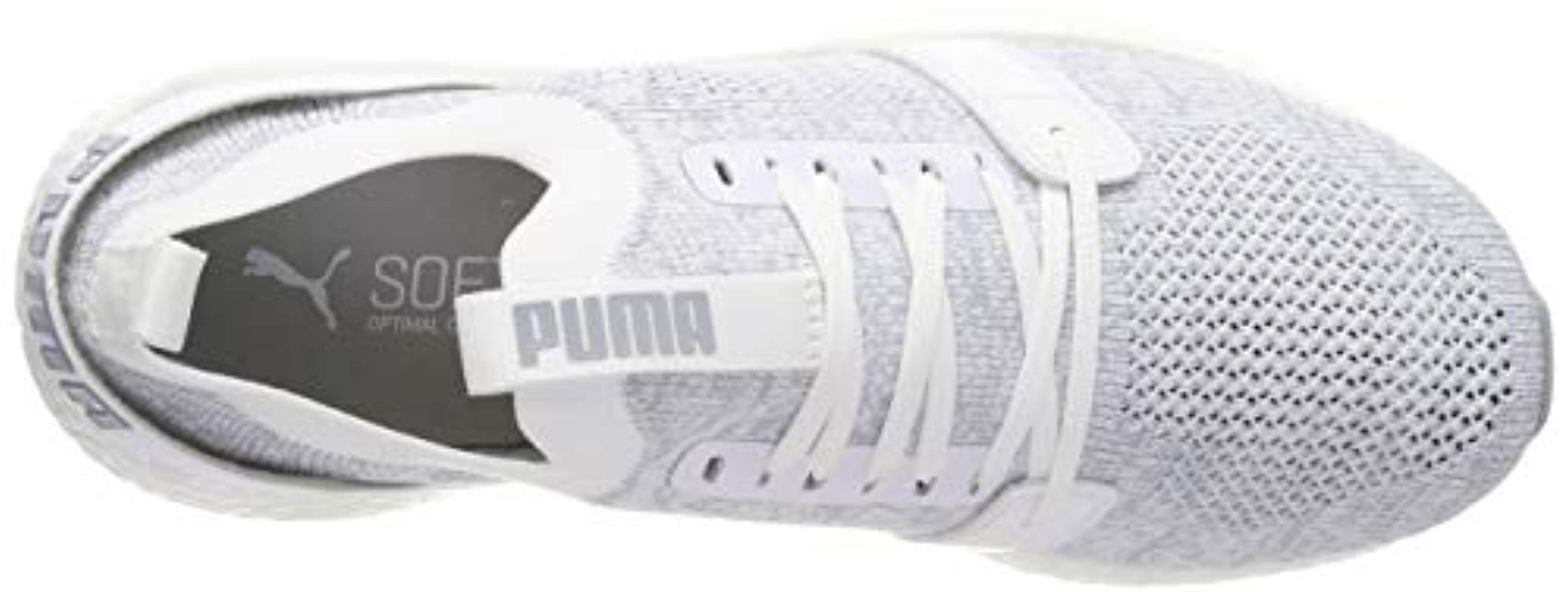 330486b291596c PUMA - White Nrgy Neko Engineer Knit Wns Competition Running Shoes - Lyst.  View fullscreen