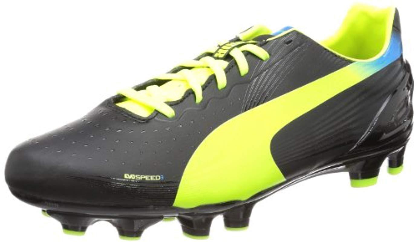 on sale a8754 95531 PUMA. Men s Black Evospeed 3.2 Fg Football Shoes
