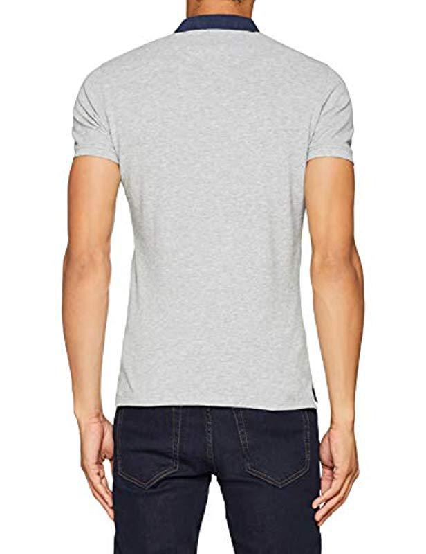 df85282f Pepe Jeans Polo Shirt in Gray for Men - Lyst
