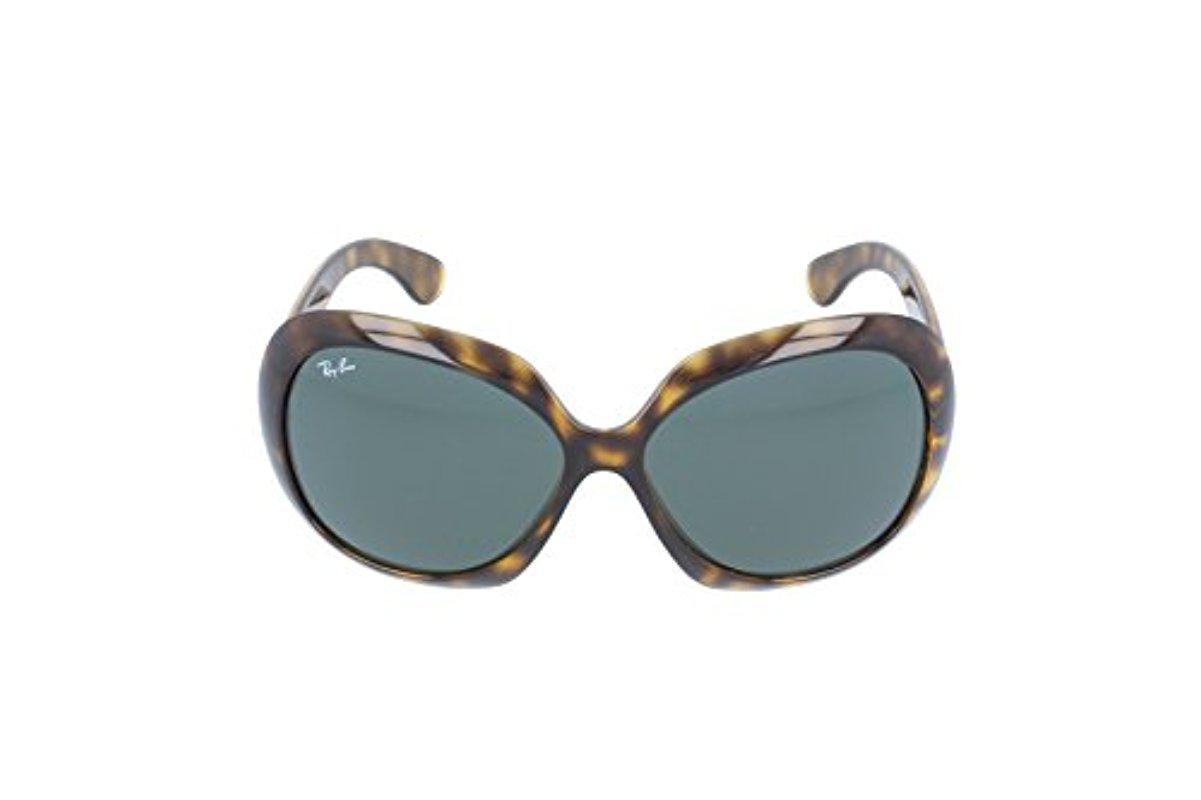 971bfe81c88b10 Ray-Ban Jackie Ohh Ii - Light Havana Frame Green Lenses 60mm Non ...