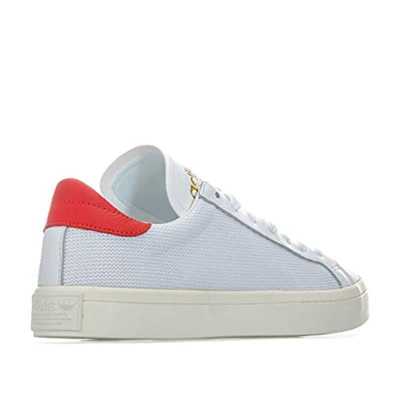 4e5434408821a1 Adidas - White Unisex Adults  Courtvantage Trainers