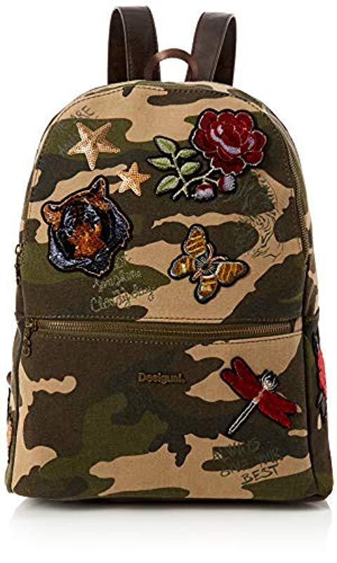 6f74ae1d5254 Desigual Bols always Milan Backpack Handbag in Green - Lyst