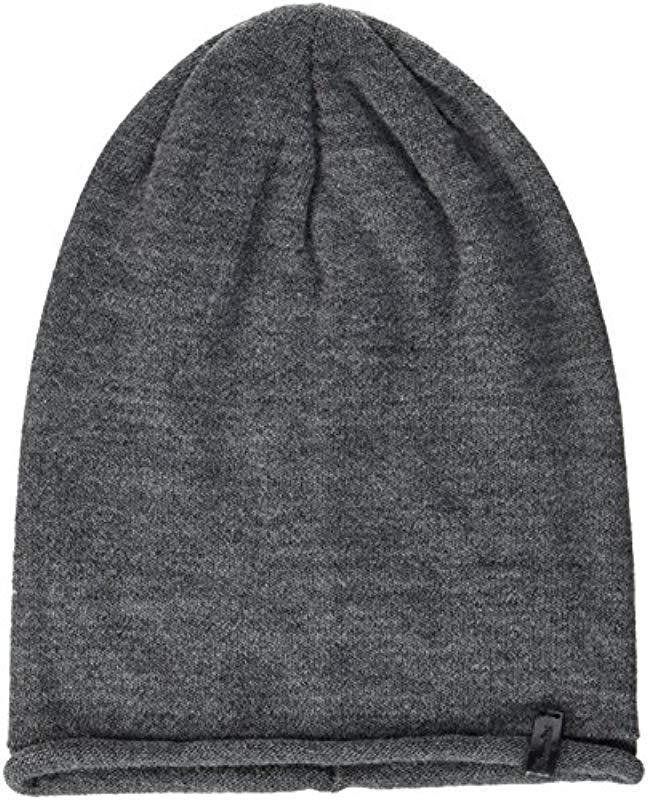 7ea2c61ea49 Wrangler Oversize Beanie (grey 37)