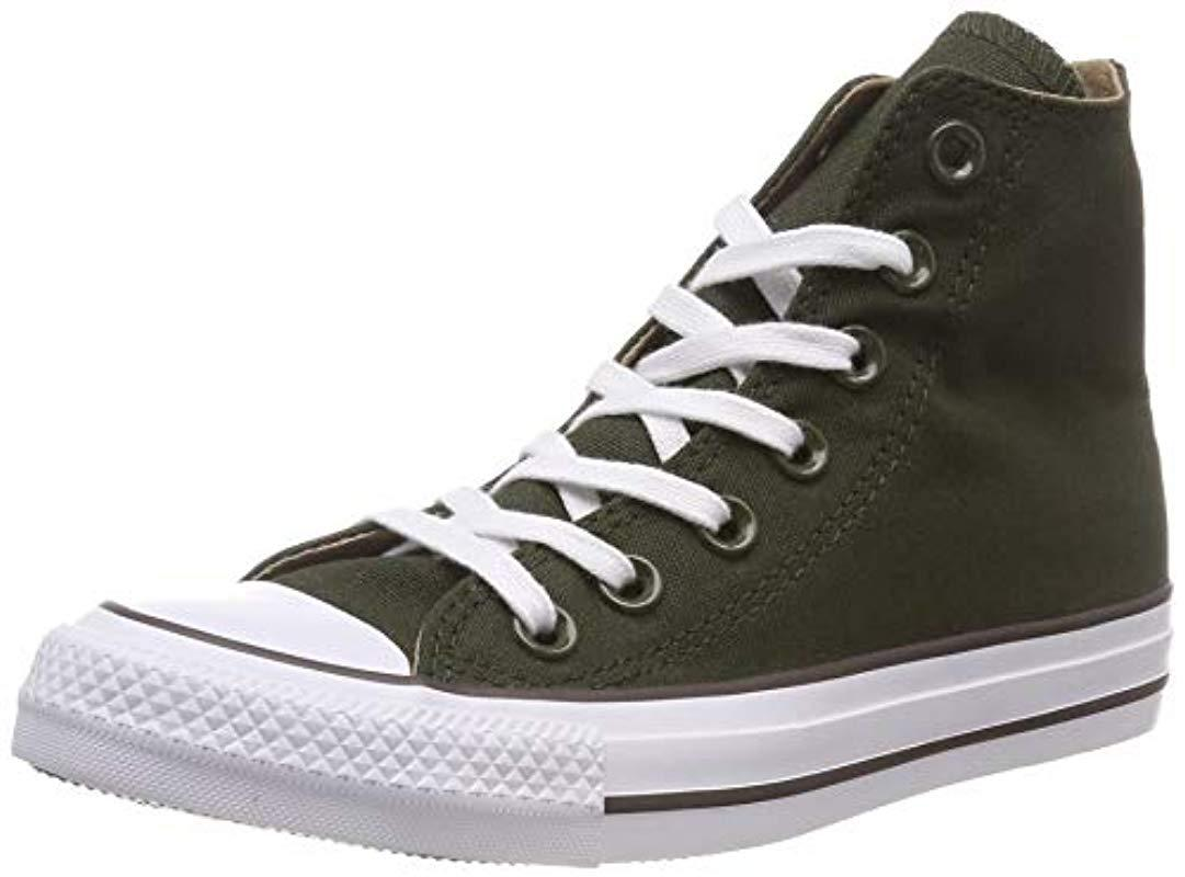 e07c72bf4ac103 Converse Unisex Adults  Chuck Taylor All Star Hi-top Trainers in ...