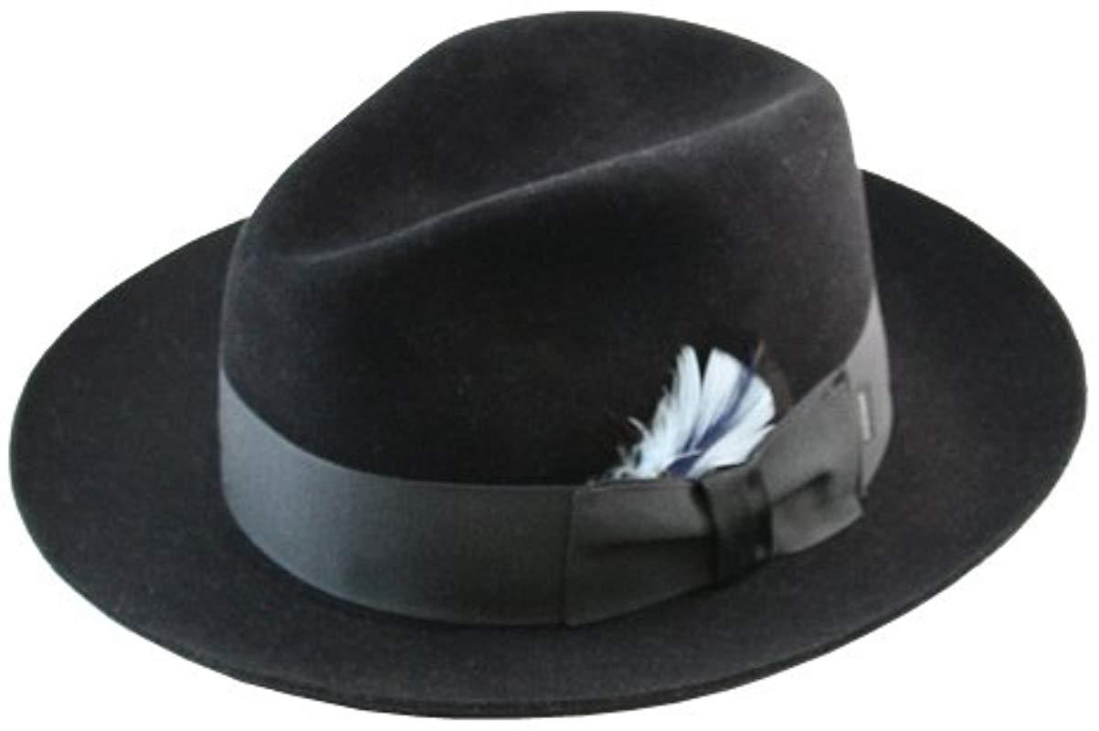 d8eb30aed616b8 Stetson Sttson Temple Royal Deluxe Fur Felt Hat in Blue for Men - Lyst