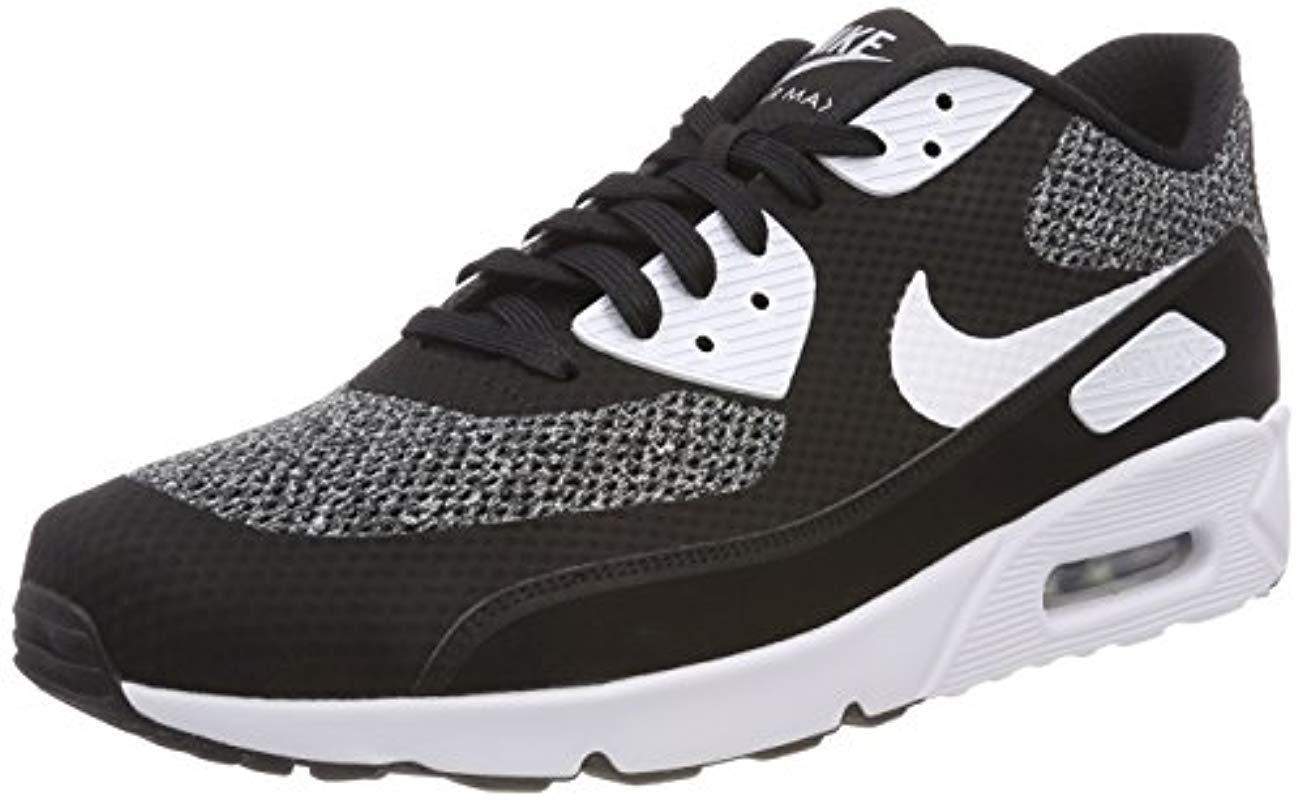 timeless design a21fa e28c5 Nike - Black Air Max 90 Ultra 2.0 Essential Low-top Sneakers for Men -. View  fullscreen