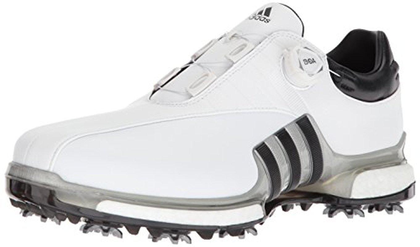 Lyst adidas' tour 360 boa scarpe da golf in bianco per gli uomini.
