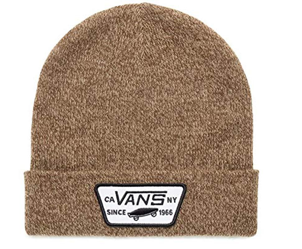 64dcb551c2a Vans Milford Beanie in Brown for Men - Lyst