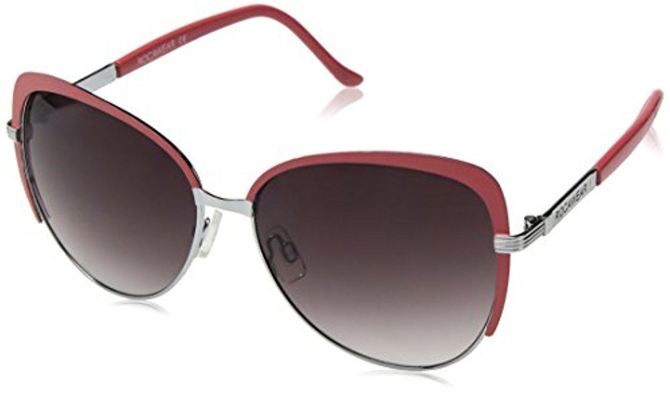 24db7c848ea Sam Edelman. Women s Rocawear R573 Slvcr Cateye Sunglasses