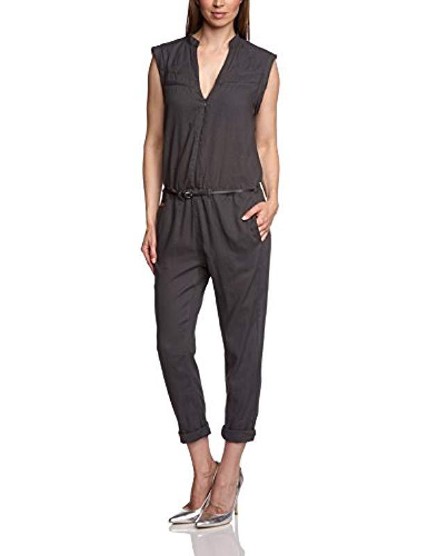 1820f748aba G-Star RAW G-star Lynn Gs Jumpsuit Wmn Relaxed Jumpsuit in Gray - Lyst