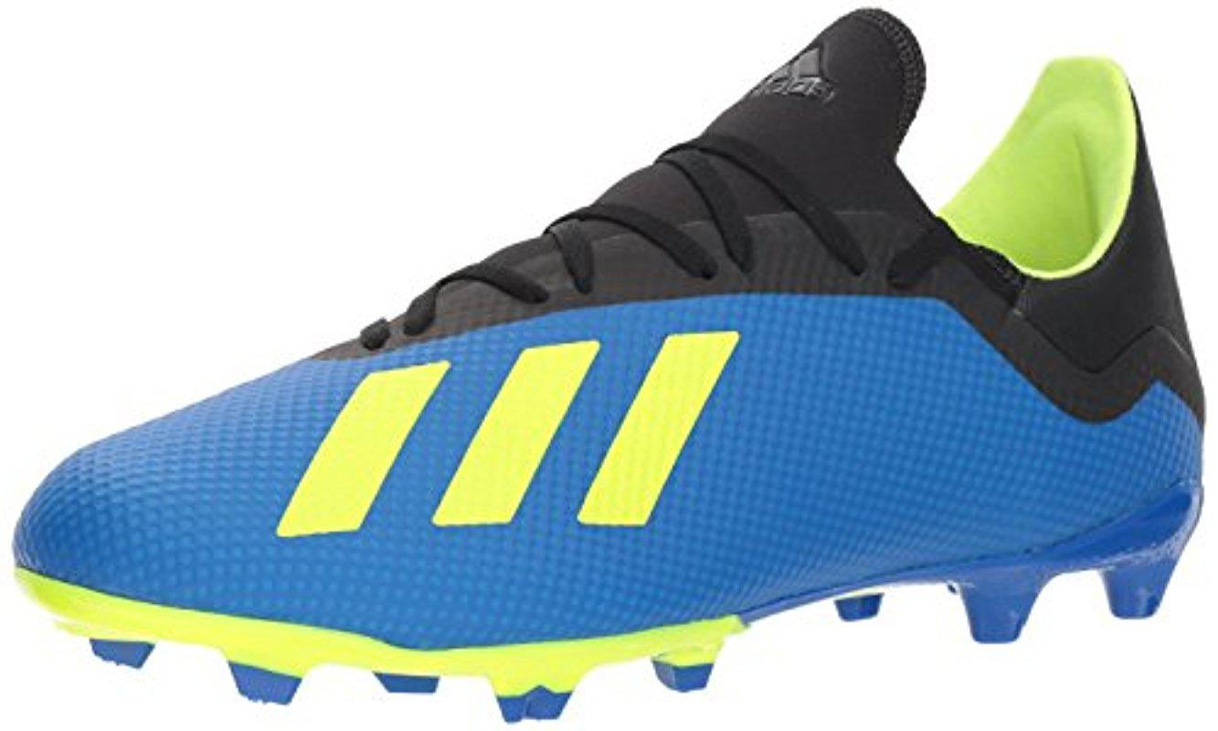 7b9a77d5d ... 5ec16b1a8ed1 Lyst - adidas X 18.3 Firm Ground Soccer Shoe in Blue for  Men - Save ...