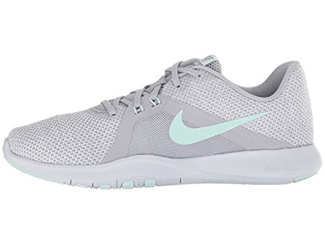e84ed00ca95b1 Lyst - Nike Flex Trainer 8 Cross in Gray