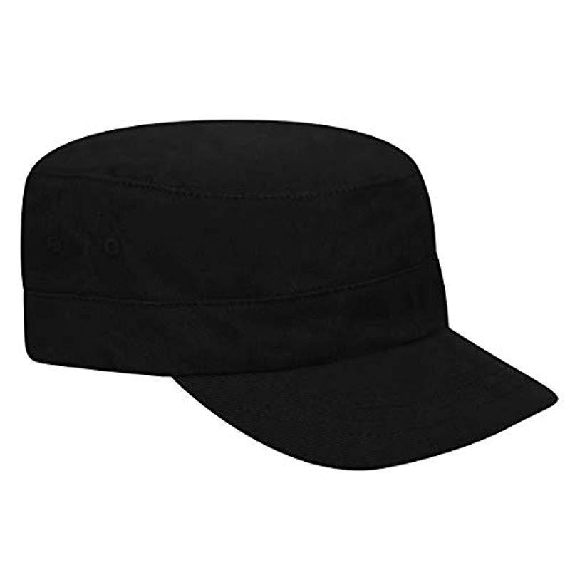 cd50d2a0f Kangol Flexfit Army Cap in Black for Men - Lyst