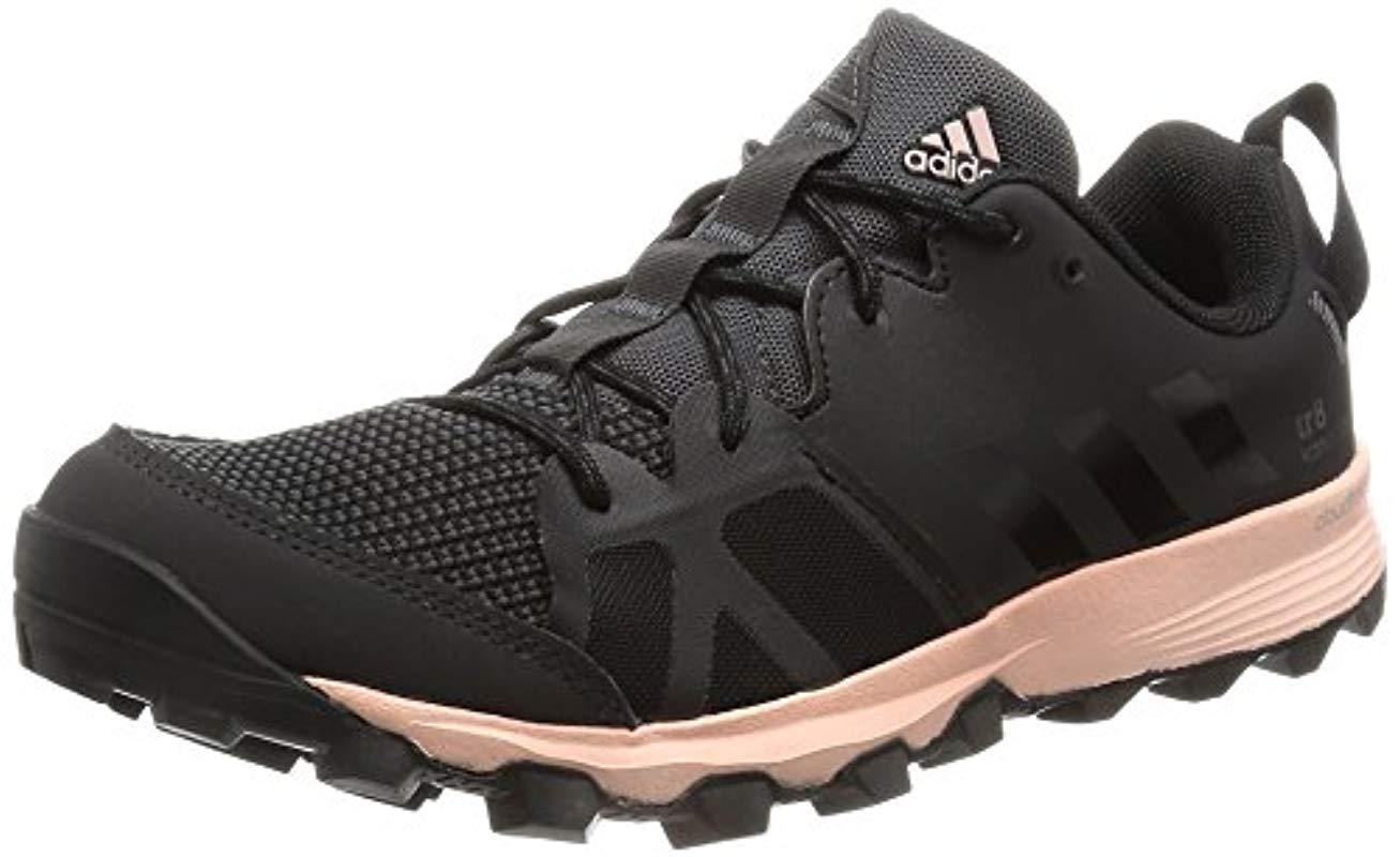 59f4ef70c9fc4 Adidas Kanadia 8 Trail Running Shoes in Black - Lyst