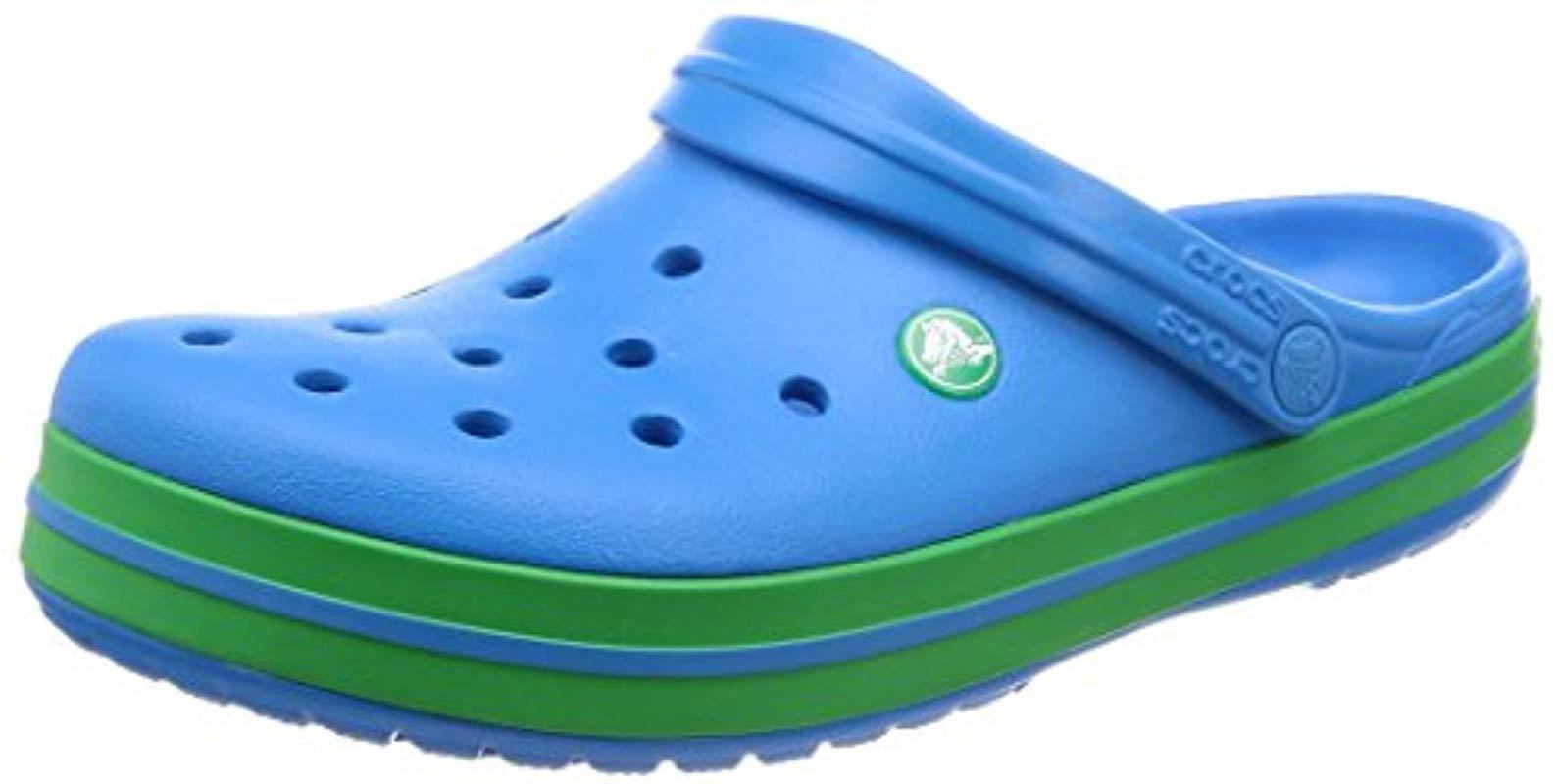 91aee51f277 Crocband, Zuecos Unisex Adulto Crocs™ de hombre de color Azul - Lyst