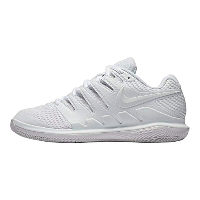 a2ca7da218ad Nike Wmns Air Zoom Vapor X Hc Tennis Shoes in White - Save ...