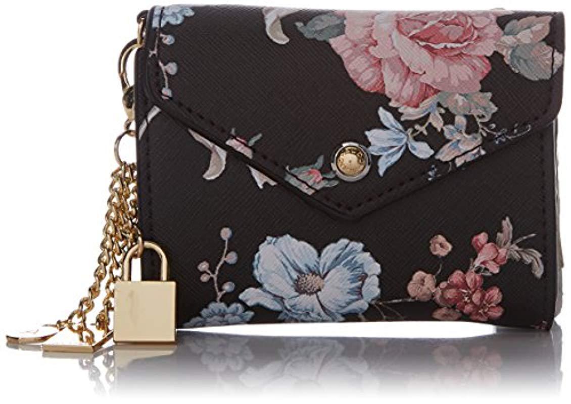 909346cf1f4 ALDO Athos Wallet in Black - Lyst