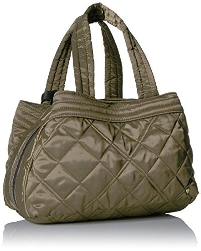 73609057ac55 Lyst - LeSportsac City Small Mercer Tote in Metallic