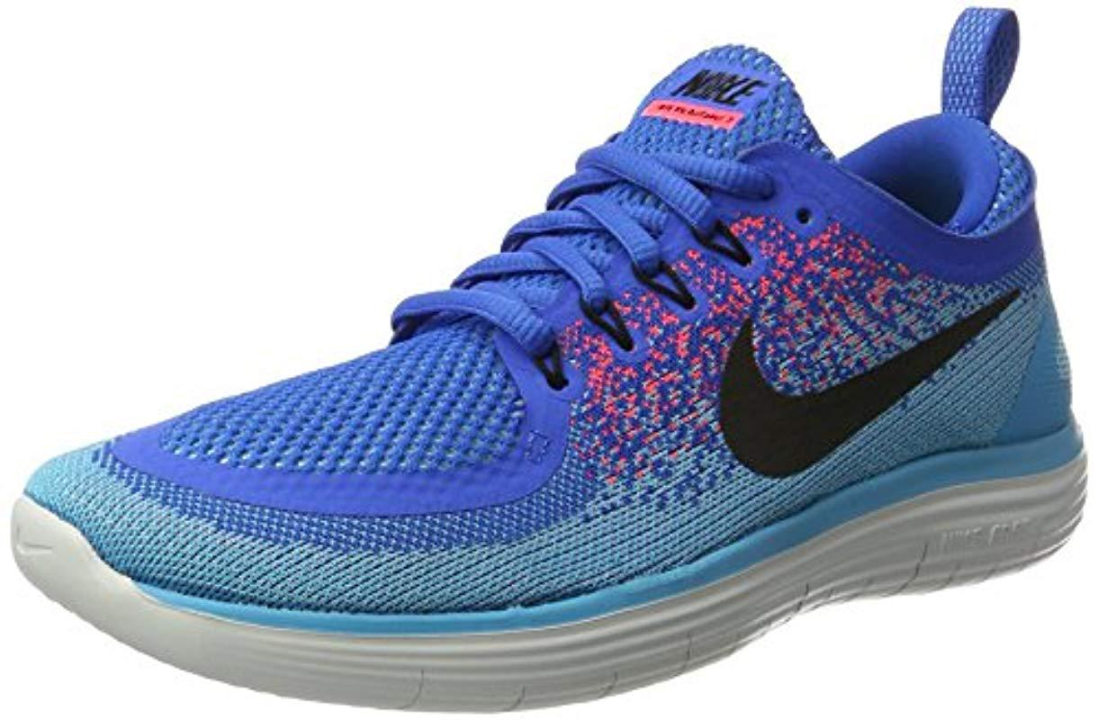 a6b55c8a97d Nike  s Free Distance 2 Running Shoes in Blue for Men - Lyst