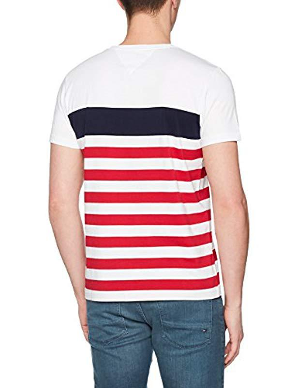 bab41123 Tommy Hilfiger Nas Stp C-nk Tee S/s Rf T-shirt in White for Men - Save 33%  - Lyst